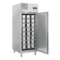 Rozsdamentes fagylalt fagyasztószekrény